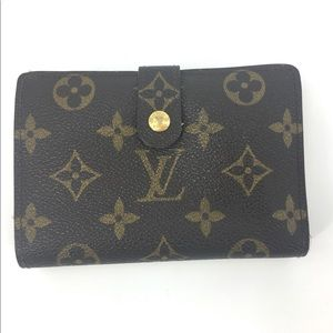 Louis Vuitton Monnaie Viennois Kisslock Wallet